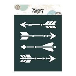 Stencil Tommy Design A6 - Frecce indiane
