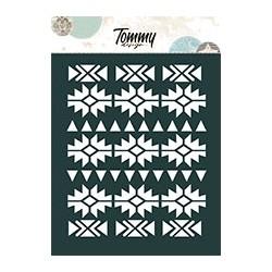 Stencil Tommy Design A6 - Maya