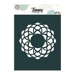 Stencil Tommy Design A6 - Mandala