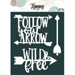 Ritagli Tommy Design A5 - Follow you arrow
