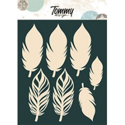 Sagome Tommy Design A5 - Piume