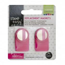 Vaessen Creative • Magneti di ricambio - Stamp Easy magnet replacement x2