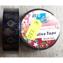 Tessuto scozzese - Washi Tape 10mt x1,5cm