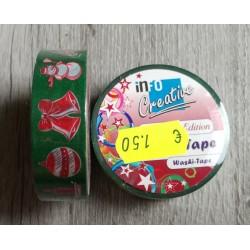 Temi natalizi - Washi Tape 10mt x1,5cm