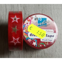 Stelle - Washi Tape 10mt x1,5cm
