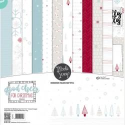 Paper pack Modascrap Good Cheer for Christmas 15x15cm