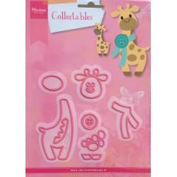Marianne Design Collectables Eline's giraffe