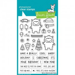 LAWN FAWN CLEAR STAMP HOW YOU BEAN? CHRISTMAS COOKIE ADD-ON
