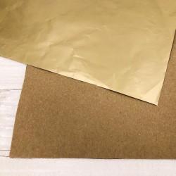 "Carta Speciale Modascrap ORO OPACO / KRAFT 1 foglio 12""x12"""