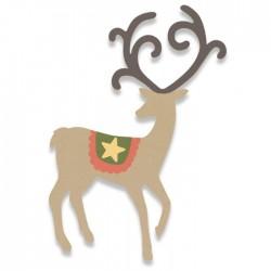Sizzix Bigz Die - Graceful Reindeer