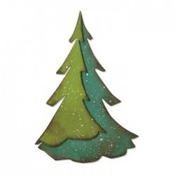 Sizzix Bigz Die - Layered Pine