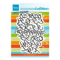 Marianne Design Alphabet - Alfabeto