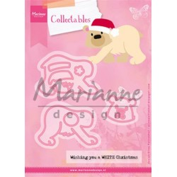 Marianne Design Collectables Eline's Polar Bear