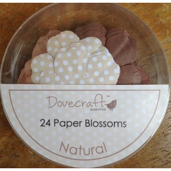 Dovecraft Paper blossom natural