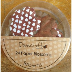 Dovecraft Paper blossom brown