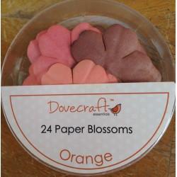 Dovecraft Paper blossom orange