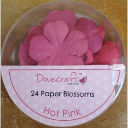 Dovecraft Paper blossom hot pink