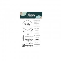 Clear Stamp Tommy Design Credi nei sogni
