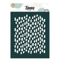 Stencil Tommy Design A6 - Chicchi di Riso