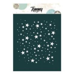 Stencil Tommy Design A6 - Stelle