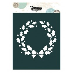 Stencil Tommy Design A6 -Cerchio di  Stelle