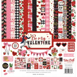 Echo Park Be My Valentine 12x12 Inch