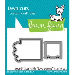 Lawn Fawn Love Poems Dies