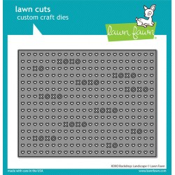 Lawn Fawn Happy Heart Day Line Border Dies
