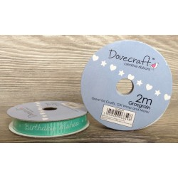 Dovecraft ribbon birthday wishes