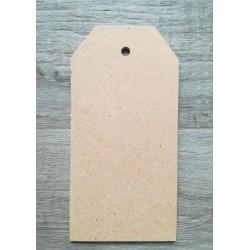 """Tag """"LALLA"""" in legno (MDF)  25cmx12,5"""