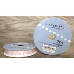 Dovecraft ribbon with love