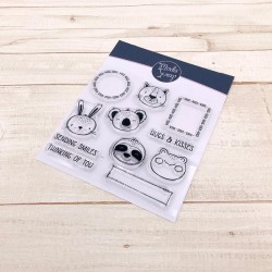 CLEAR STAMPS MODASCRAP - HUGS