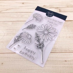 CLEAR STAMPS MODASCRAP - DAISY