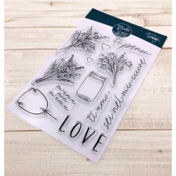 CLEAR STAMPS MODASCRAP - LINEA TOMMY - TI PENSO