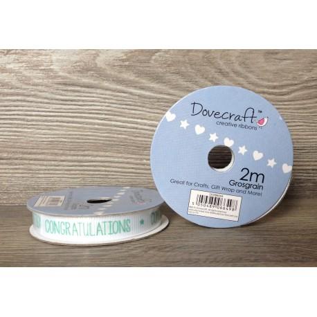 Dovecraft ribbon congratulations