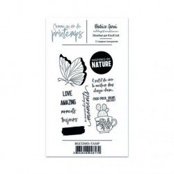 Timbri Clear Stamps Comme un air de printemps 1 - Béatrice Garni