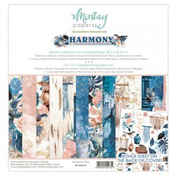 "Paper pack Mintay Harmony 30x30 cm (12""x12"")"