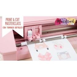 CORSO ONLINE Silhouette Masterclass Print & cut con Tommaso Bottalico