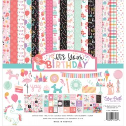 """Echo Park It's Your Birthday Girl 12x12"""" Collection Kit"""
