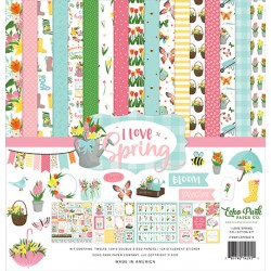"Echo Park I Love Spring 12x12"" Collection Kit"