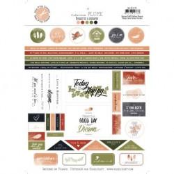 Etichette Plume labels - Mes Ptits Ciseaux