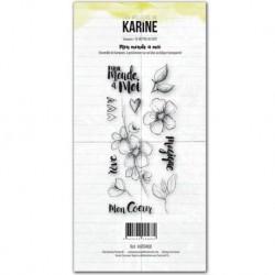 Timbri Clear Stamps Les Atelier de Karine - Mon monde à moi