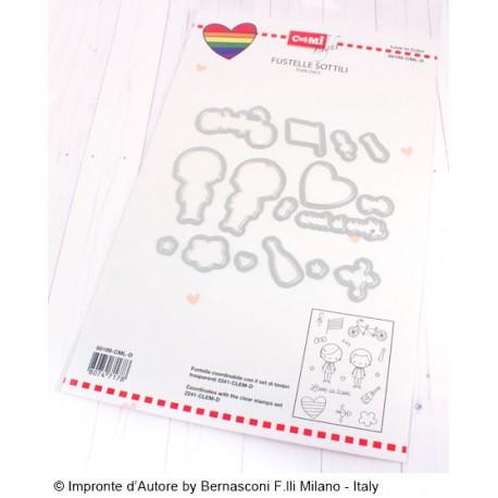 Fustelle Impronte D'Autore Love is Love