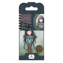 Collectable Rubber Stamp - Santoro - No. 4 Forget Me Not