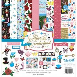 "Echo Park Alice in Wonderland No. 2 12x12"" Collection Kit"