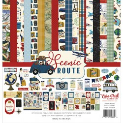 """Echo Park Scenic Route 12x12"""" Collection Kit"""