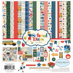 Carta Bella School Days 12x12 Inch Collection Kit