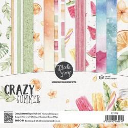Paper pack Modascrap CRAZY SUMMER 30x30cm