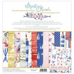 "Paper pack Mintay Marina 30x30 cm (12""x12"")"