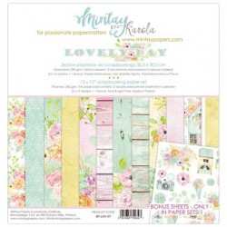 "Paper pack Mintay Lovely Day 30x30 cm (12""x12"")"